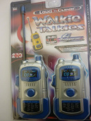 Assorted Colour Loud N Clear Walkie Talkies with Morse Code