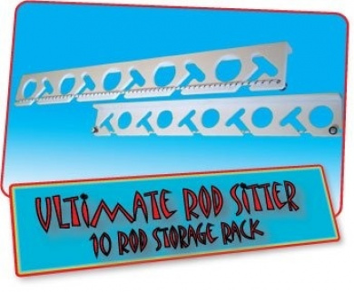 Ultimate Rod Sitter - 10 Fishing Rod Storage Rack