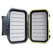Waterproof Fly Fishing Box Double Side Ice Fishing Tackle Case Box Storage
