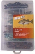 47 pc. PURE FISHING BASS KIT IN PLANO BOX