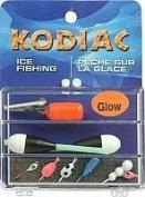 Celsius 6 Glow Jigs, 2 Floats, Depth Finder, Assorted Colours