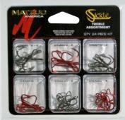 Matzuo Sickle Treble Hook Assortment