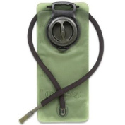 Ultimate Arms Gear Tactical OD Olive Drab Green 2.5 Litre / 2480ml Replacement Hydration Backpack Water Bladder Reservoir - Includes Hosing And Hands Free Bite Valve