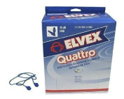 Elvex Quattro Corded Earplug
