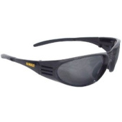 Safety Glasses DEWALT DPG56B BLACK Ventilator SMOKE Lens/ BLACK FRAME