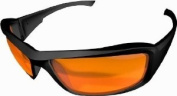 Edge Tactical Eyewear XH610 Hamel Matte Black with Tiger's Eye Lens