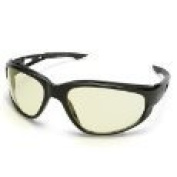 Edge Safety Eyewear Glasses 6/Pk Dakura Polarised - Black / Yellow Lens