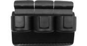 Safariland 333-2-2-175 Speedloader Holder Black, Plain for 4.4cm Belt Comp II