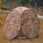 Camouflage Pop Up Ground Hunting Blind Steel Frame