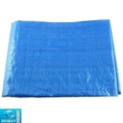 Bid-Buy-Direct Brand New Strong Lightweight Tarpaulin Ground Sheet - Use For Outdoors Camping,Garden - Protects On Green Houses,Bikes,Vehicles - Eyelets Fit - Rot,Mildew And Shrink Proof - Uv Protected - Lightweight - Water Proof