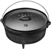 Lodge Logic 5.7l Cast Iron Camp Dutch Oven