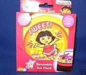munchkin Dora the Explorer Reusable Ice Pack for Lunchbox Lunch Bag