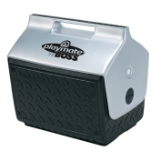 Igloo 14l Playmate Cooler with Industrial Diamond Plate Exterior Design