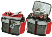 Soft Sided Cooler with Easy Open Top & Pockets (36 Can Cap.)