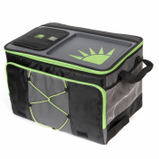 California Innovations TableTop Soft Collapsible Cooler (50 Can), Black