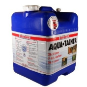 Portable Water Storage Container Refreshment Cooler with Cap and Spigot Nozzle with on/off Tap Emergency Water Jug