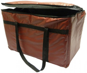 Phoenix 33cm by 60cm by 25cm Insulated Delivery Bags, Burgundy