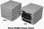 Pps Packaging Company 40X40x46 Canvas Cover C-44-D Evaporative Cooler Cover