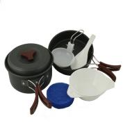 Emergency Zone Lightweight Anodized Aluminium Outdoor Mess Kit