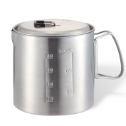 Solo Pot 900 Stainless Backpacking Camp Pot