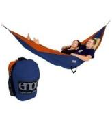 Eagles Nest Outfitters Double Nest Hammock Sapphire/Orange