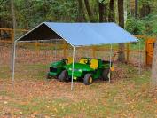 True Shelter 6-Leg Canopy, Silver, 3m x 6.1m