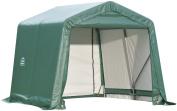 ShelterLogic 71824 Green 8'x16'x8' Peak Style Shelter