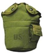 OD Government Nylon Canteen Cover