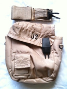 Official US Military 1.9l Collapsible Water Canteen Pouch Carrier Cover with Sling