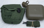 OD Green Military Issue 1.9l Water Canteen with New issue Carrier and sling free ship