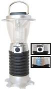 SE FL806-7 7 Led 4 Function Lantern, Black and Silver