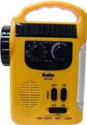 Kaito KA339 Solar & Crank AM/FM Emergency Radio with LED Lantern & Flashlight