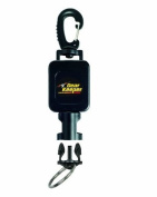 Gear Keeper RT4-5912 Small Flashlight Retractor Large Heavy Duty Snap Clip Mount with Q/C-II Split Ring Accessory
