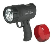 Cyclops Sirius 500 Lumen Handheld Spotlight W/6 Led Lights CYC-X500H