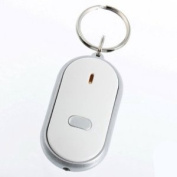 YKS New White LED Sound Control Torch Lost Key Or Wallet Locator Finder Keyring Keychain