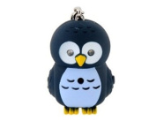 Tanboo Owl Shaped Keychain with LED Light