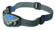 Brunton Glacier 115 Headlamp - 3AAA Rechargeable, Green Light, Infinite Dimming,