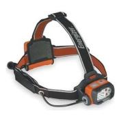 Headlight, 3 AA, Safety Orange and Black
