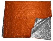 SE EB121OR Aluminized Emergency Blanket