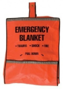Safety Flag 8025 Emergency Fire Blanket and Pouch