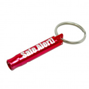 Safe Alert! Mini Keychain Safety Emergency Survival Whistle