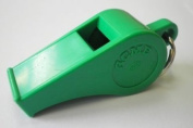 Acme Thunderer Whistle Green and De-luxe Safety Lanyard