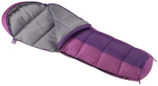 Wenzel Backyard Girls 30-Degree Sleeping Bag, Purple