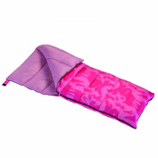 Wenzel Moose Girls 40-Degree Sleeping Bag, Pink