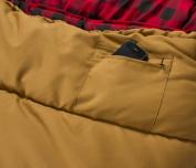 Teton Sports Deer Hunter 0 Degree Sleeping Bag, Brown, 230cm x 100cm , Right Zip