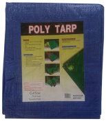 Kotap TRA-1824 All Purpose 5.5m x 7.3m Blue Poly Tarp