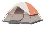 Coleman 111245 Sundome 5 Person Camping Tent - Gray/Orange