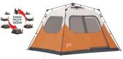 COLEMAN Outdoor Camping Waterproof 6 Person Instant Tent - 10'x9' Foootprint