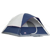 NEW COLEMAN Camping Elite Sundome 6 Person Tent 2 Rooms