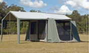 Kodiak 6133 Hydra Shield Canvas 3.7m x 2.7m 6-Person Tent w/ Deluxe Awning